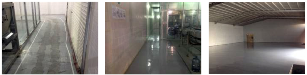 Water Bottle Factory - ASPART-X Floor
